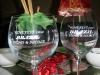 Wine Glasses and Full Bottles